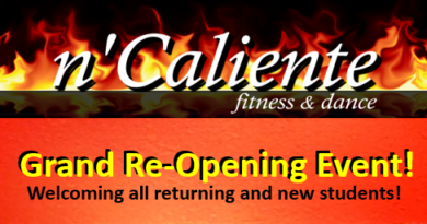 Grand Re-Opening at N'Caliente Fitness