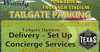 Tailgate at the Super Bowl with Woody RV Rentals