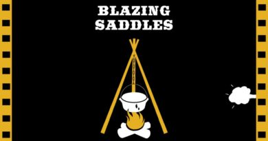 "Flix Brewhouse presents ""Blazzing Saddles"""