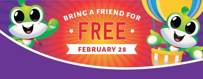 Buy One Admission, Get One Free at Catch Air