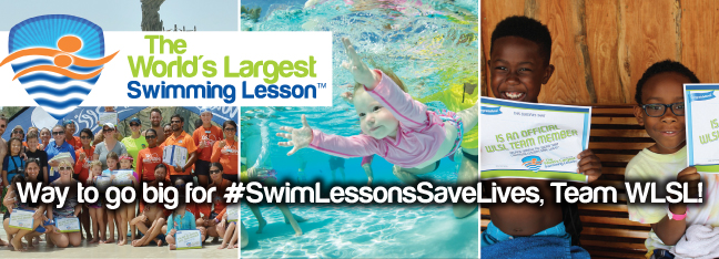 World's Largest Swimming Lesson at Cat Hollow Pool