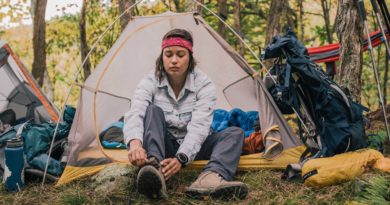Women's Backpacking Basics Class at REI
