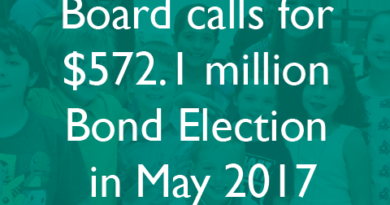RRISD Board of Trustees Call for $572.1M Bond in May 2017