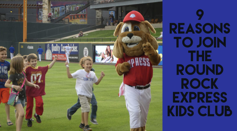 9 Reasons to Join the Round Rock Express Kids Club