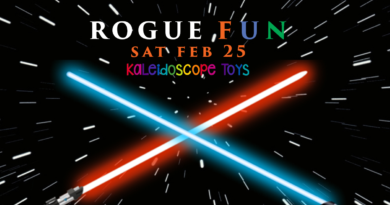 Rogue Fun Star Wars Party at Kaleidoscope Toys