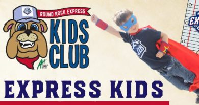 Round Rock Express Presents a Full Lineup of Kids Activities