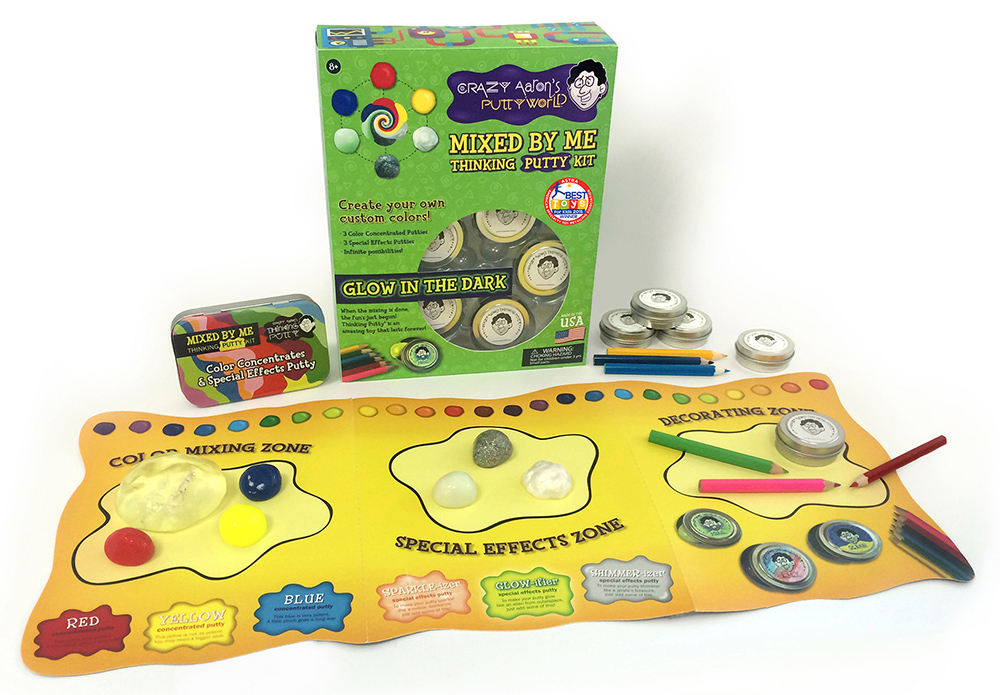 Mix Your Own Thinking Putty at Kaleidoscope