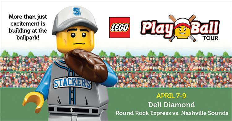 LEGO Play Ball Tour at Round Rock Express