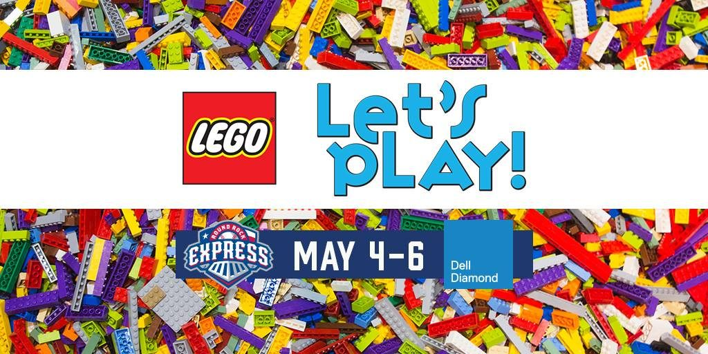 LEGO Play Ball Tour at the Round Rock Express