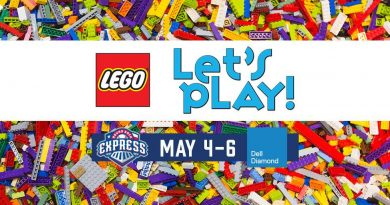LEGO Play Ball Tour at the Round Rock Express: May 4-6, 2018