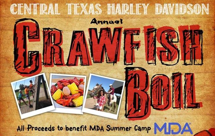 Central Texas Harley Davidson Annual Crawfish Boil March