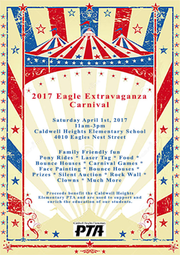 Caldwell Heights Elementary 2017 Eagle Extravaganza Carnival