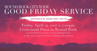 Round Rock City-wide Good Friday Service