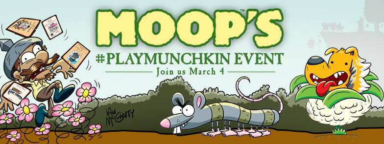 Rogue Gallery presents a Play Munchkin Event