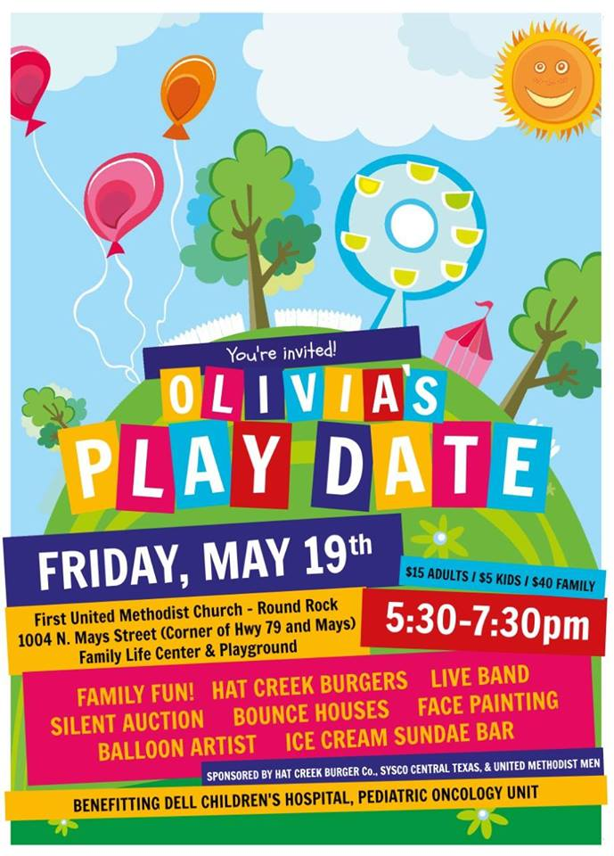 Olivia's Play Date Fundraiser