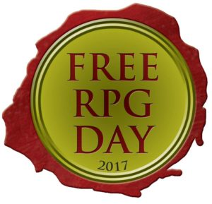 Rogues Gallery is hosting Free RPG Day