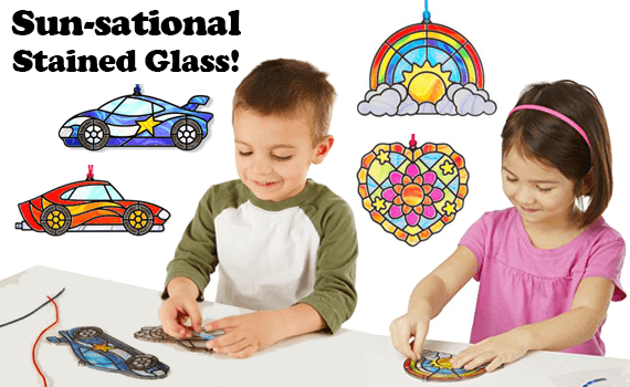 Kaleidoscope Toys FUNtivity Class: Sun-sational Stained Glass