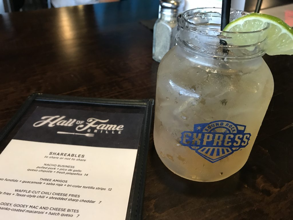 Express Mule at the Hall of Fame Grille at the Intel Club at Dell Diamond