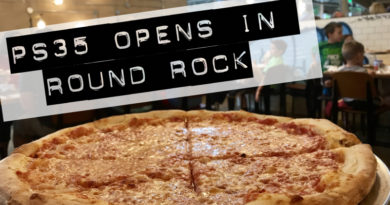 PS35: A New York Style Pizzeria Opens in Round Rock