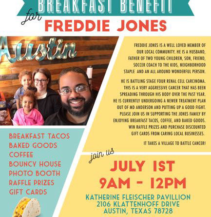 Breakfast Benefit for Freddy Jones