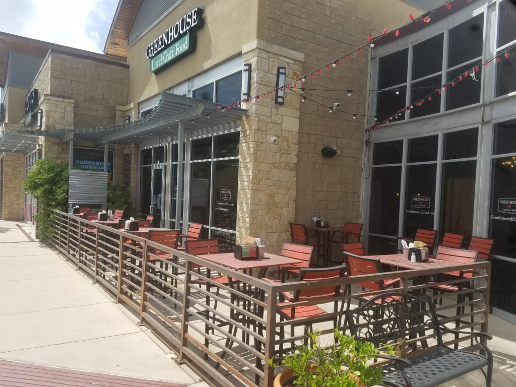Best Patios in Round Rock: Greenhouse Craft Food
