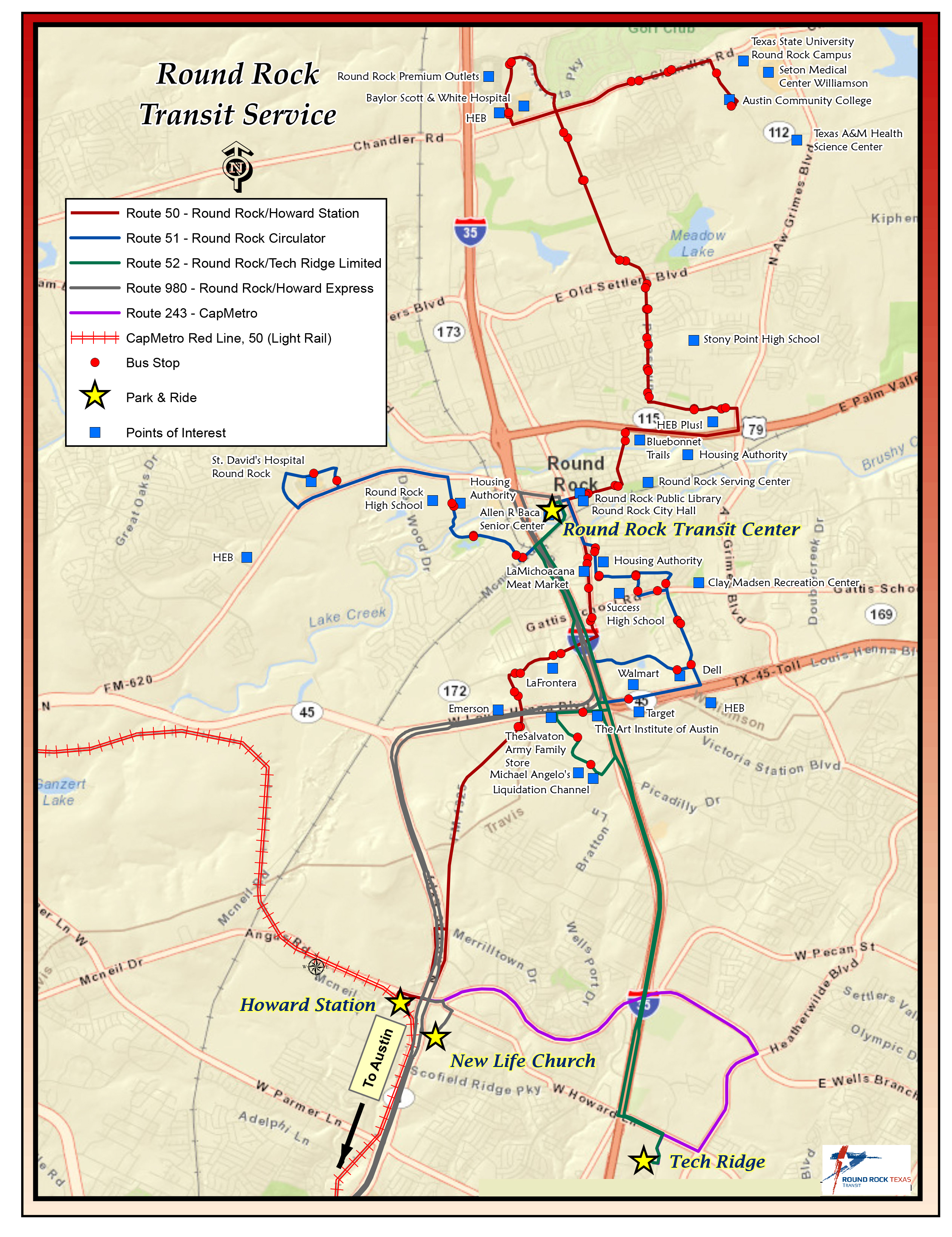 Capital Metro Launches Bus Service in Round Rock August 21 2017