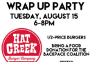 Instagram Summer Challenge Wrap-Up Party at Hat Creek Burger Company – August 15, 2017