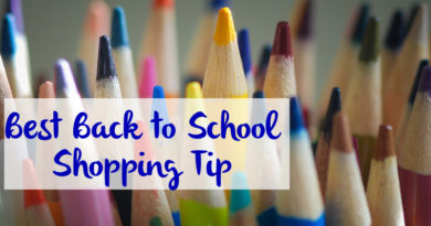 The Best Back to School Shopping Tip You Will Get This Year!