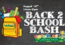 Back to School Bash at Catch Air | August 18, 2017