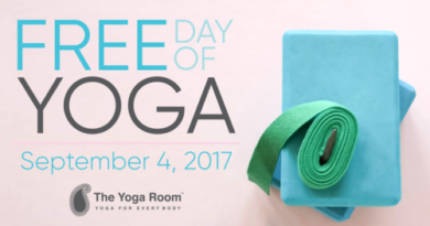 Free Day of Yoga at The Yoga Room