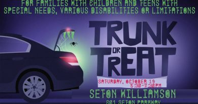 Trunk or Treat for Special Needs Kids | October 19, 2019