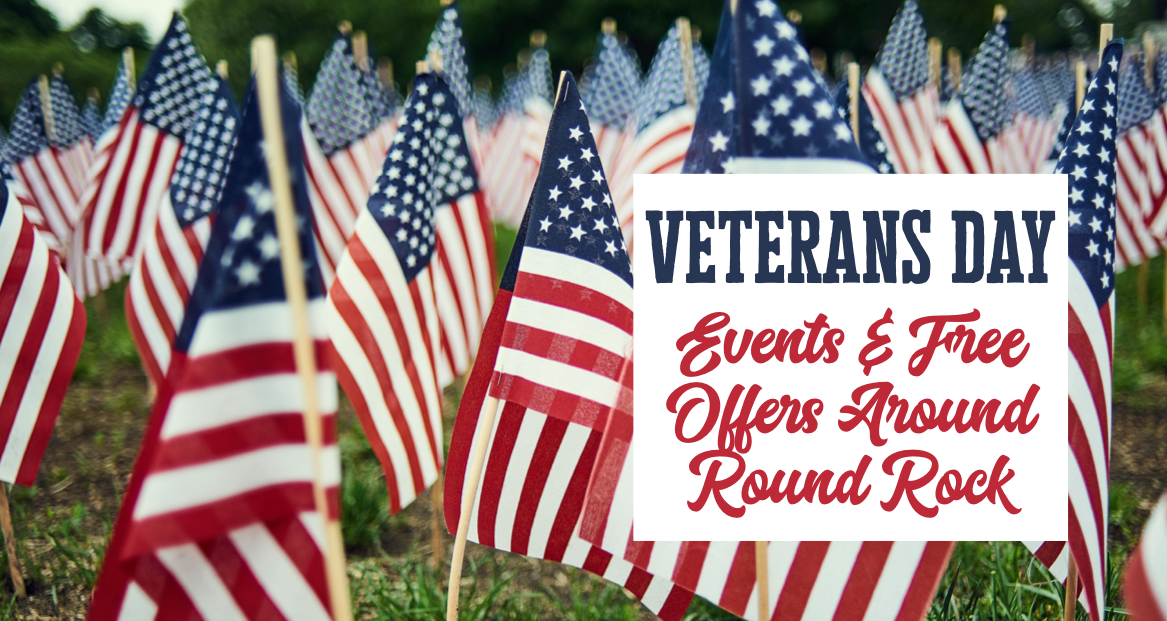 Veterans Day In Round Rock Events And Freebies November 11