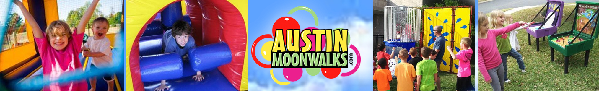 Round the Rock Birthday Party Directory - Austin Moonwalks