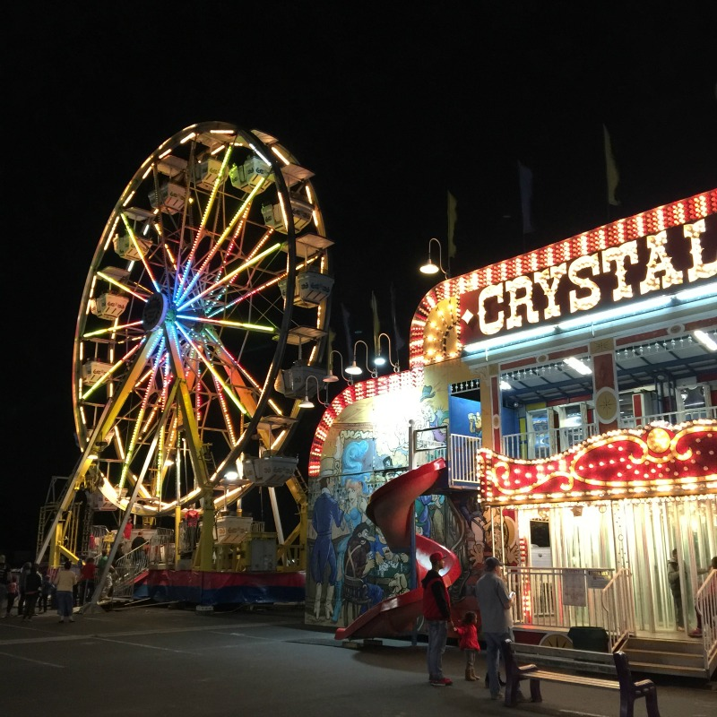 Christmas Towne | Carnival at Dell Diamond | Round Rock, TX
