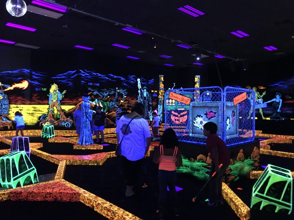 Monster Mini Golf Amp Laser Tag New Family Fun In Round