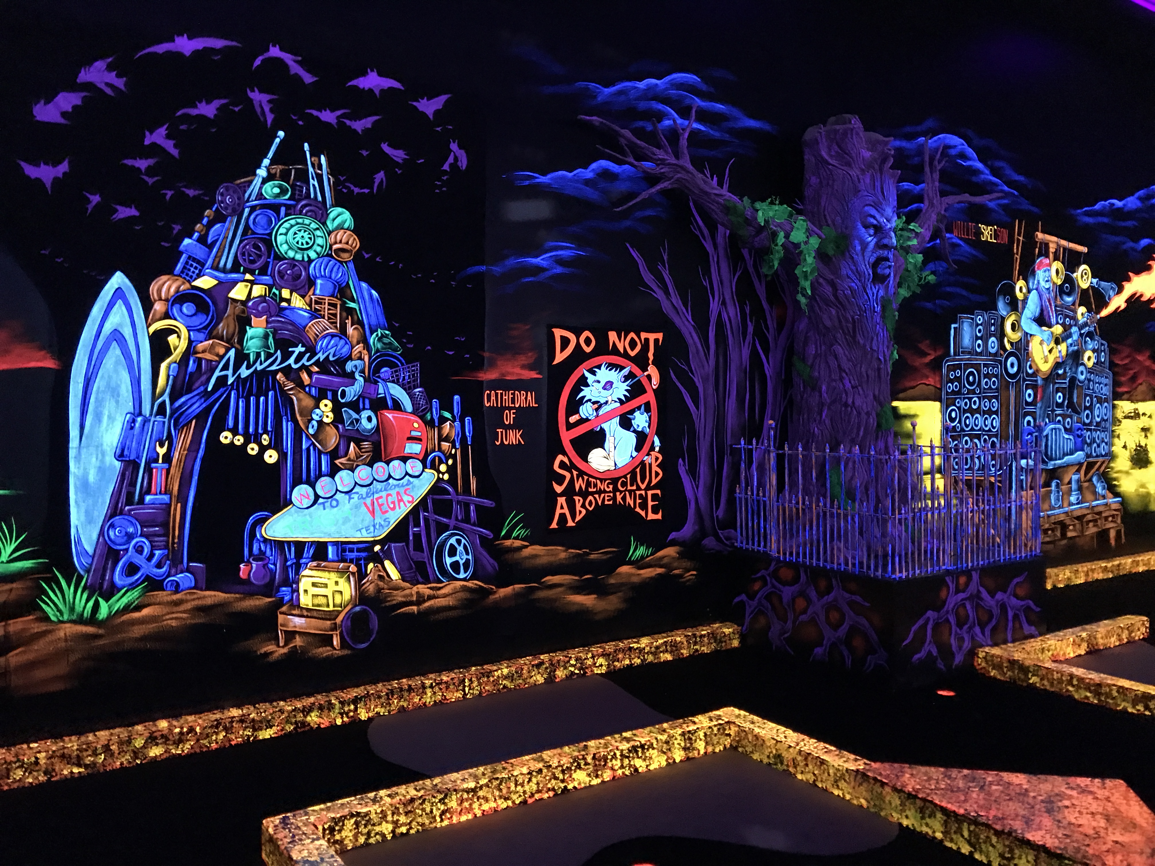 Monster Mini Golf Laser Tag New Family Fun In Round Rock Round
