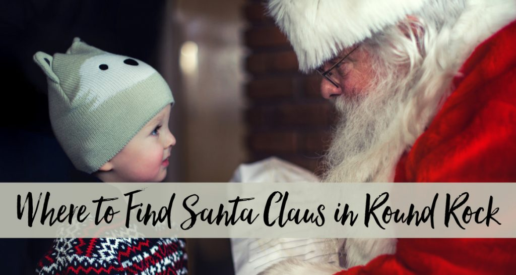 Holidays in Round Rock: Where to Find Santa Claus