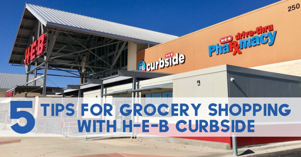 Tips for H-E-B Curbside