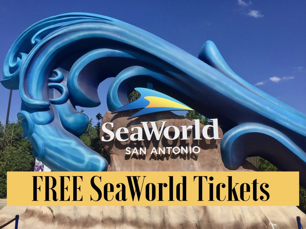 Free SeaWorld Tickets