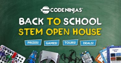 Code Ninjas Back to School STEM Open House | August 25, 2018