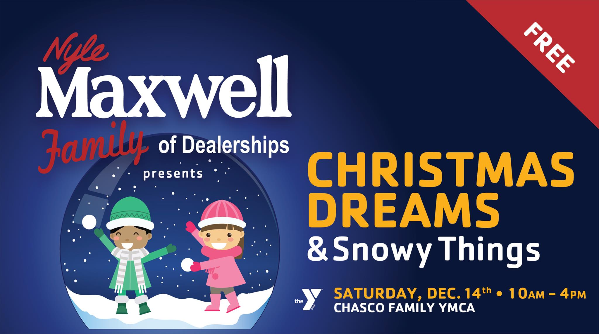 Chasco Ymca Round Rock Halloween 2020 Nyle Maxwell's Christmas Dreams & Snowy Things   Round Rock, TX