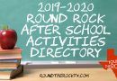 Round Rock After School Activities Directory | 2019-2020