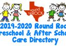 Round Rock Preschool & After School Care Directory | 2019 – 2020