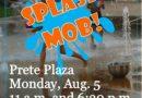 Splash Mob Fountain Fun Event | August 5, 2019