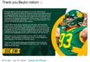 Round Rock Man Leaves Baylor for the 2020 NFL Draft