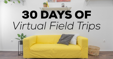 30 Days of Virtual Field Trips