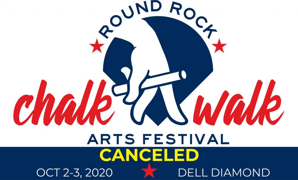 2020 Round Rock Chalk Walk Canceled