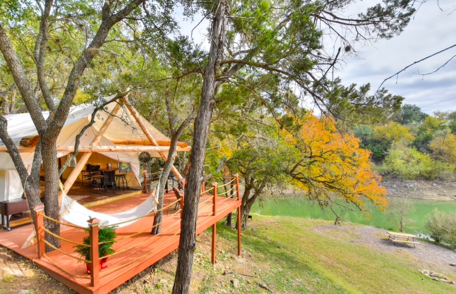 Glamping Spots in the Texas Hill Country