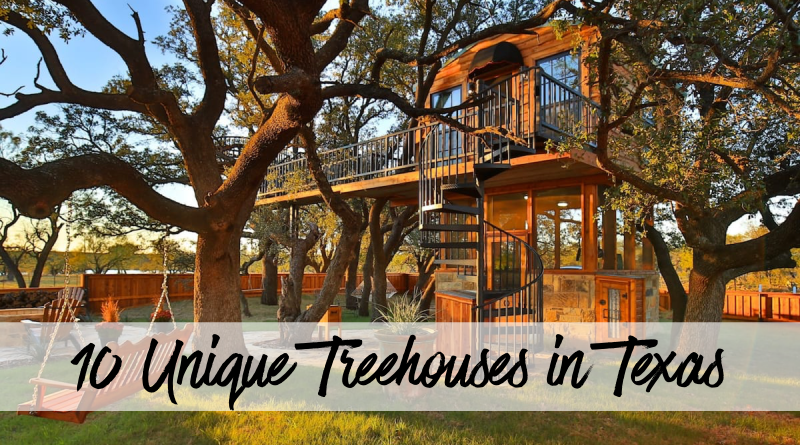 10 Unique Treehouses in Texas to Stay In