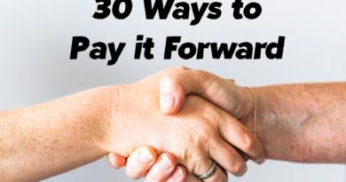 30 Ways to Pay it Forward